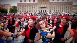 吉林市佳丽水兵舞团