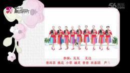 花与影广场舞《家乡谣》队形版