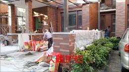 惠城奥林匹克花园铝艺围栏