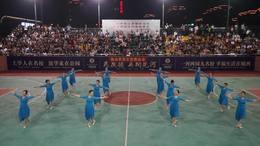 广德健身舞蹈协会母亲节  体育中心广场队《 晚风吹过哨塔》