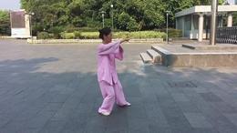 40式太极拳竞赛套路 演练陈庆琳