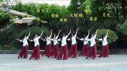 117.太阳花广场舞(9) 江南谣 编舞:王梅