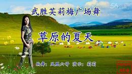 武胜英莉梅广场舞《草原的夏天》编舞:凤凰六哥 演示:莉莉