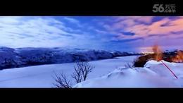 盘州云海乐园滑雪场高清视频