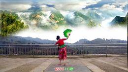 重庆红蜻蜓广场舞《新沂蒙山小调》演示:红蜻蜓,编舞:艺莞儿
