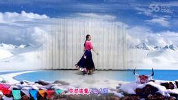 安源红子玉广场舞《天边的巴拉格宗》