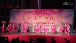 康美广场舞《江南梦》2015年广场舞决赛现场视频