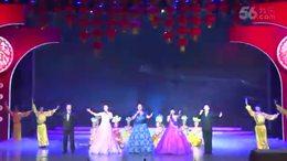 通州区2017慰问各界人士新春团拜会 歌伴舞《走向明天》