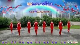 重庆葉子广场舞 祝寿歌 原创 附分解和背面演示...