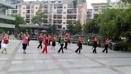 黄陂文体广场晨练舞蹈 拉住妈妈的手 编舞:刘峰