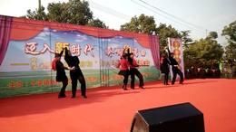十字智慧广场双人舞新和村表演水兵舞《我们好好爱》