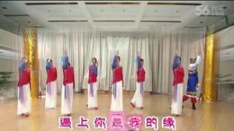 遇上你是我的缘团队,编舞.饶子龙,习舞.长沙子龙广场舞队