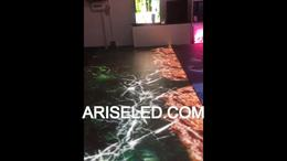 Interactive  Full multi touch LED dance floor