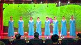 女生小合唱【洪湖水浪打浪】通州区老干部艺术团合唱队