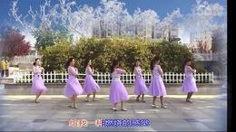琪子广场舞团队版   下个冬天谁陪我看雪 (99)