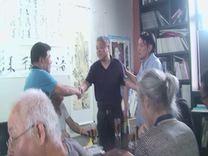 """""""荒芜的地平线""""—周华明绘画作品展开幕式在苏华美术馆举行"""