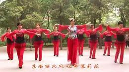 银苑秀秀广场舞原创!【12356】北京队集体版正面