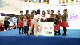 """在万达举办的""""舞动青春""""广场舞大赛中""""打靶归来""""荣获第二名。"""