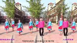 广西廖弟艳艳健身舞《心中的女神》演唱:云飞...