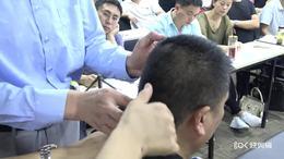 1、老师手把手指导每个学员颈椎触诊