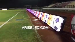 默,Football billboard P10 led display for live sport events