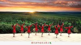 丽人广东慧影广场舞《绣满霞光的蒙古袍》