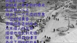 难民 作者 臧克家 朗诵 杨柳;曾湉 西克制作