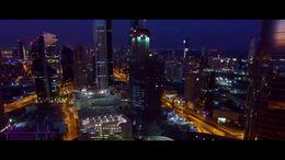 kuwait city  sunrise shot