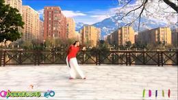 淡定广场舞 肩上的云 编舞:雨夜 演示:淡定 制作:杨柳青青