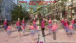 广西廖弟健身舞 《那里的山,那里的水》 演示:湖北麻城鑫粉团...