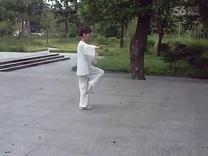 42式太极拳竞赛套路 演练陈庆琳