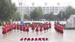 容城蓝灵乔舞蹈队哥哥广场舞(队形)
