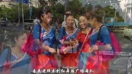 春英老师来上海红舞鞋广场舞队互动花絮