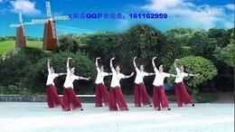 113.太阳花广场舞 (7人)风筝误 编舞:静静