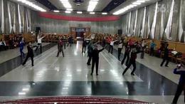 晋中老体协培训班学员学练柔力球《雪域踢踏》