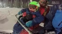 【发现最热视频】太酷了!2岁小孩子滑雪太牛了...