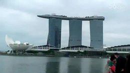 第十四集:欣赏新加坡《鱼尾狮公园》:2016东南亚之行(14)...