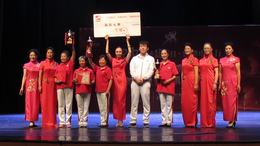 红舞联盟广场舞山西行晋中站巡回赛  颁奖