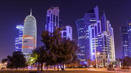 Doha Lights 4K