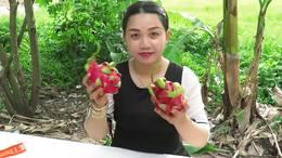 美女制作大盆水果沙拉全过程TOP 聚餐聚会很实用!收藏...