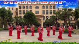 馨梅广场舞 忘尘谷  团队( 附教学版) 217 摄像 制作:泉水叮咚