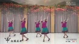 紫蝶踏歌广场舞《杜鹃花开》