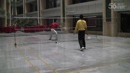 网式柔力球训练-- 2012年(祁宏静VS杨金星)