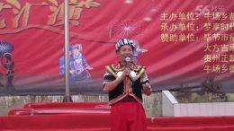 2017年大方县牛场乡花坡节表演节目之十八——苗族特技