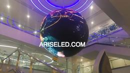 Round Led display,led display ball,led sphere display