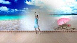 安源红子玉广场舞《海潮》