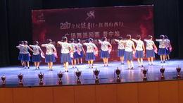 北京红舞联盟山西行广场舞晋中赛区 梨花情 一等奖