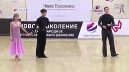 摩登舞讲座 节选  2016WDSF冠军迪马等新一代技术研讨讲习 俄版