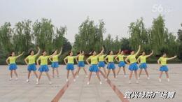 宜兴绿茶广场舞 《把心给你》13个人演绎  编舞:张春丽...