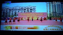 爷姑健身广场舞:康巴汉子我的情郎、队形版